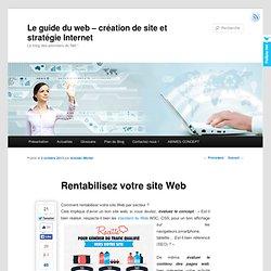 Rentabiliser votre site Web