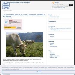 Lur Berri aide les éleveurs de bovins à améliorer la rentabilité de leur élevage