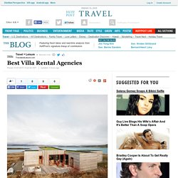 Best Villa Rental Agencies