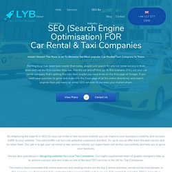 Taxi - Car Rental SEO Services - Launch Your Business