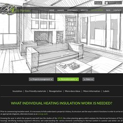 Travaux de rénovation et isolation pour le compte des propriétaires. Audit énergétique gratuit