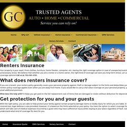 Renters Insurance North Las Vegas