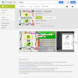 RENTO - ONLINE - Android Apps on Google Play