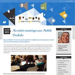 Ma rentrée numérique avec Michèle Drechsler – Le blog de La Souris Qui Raconte