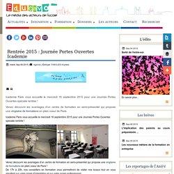 Rentrée 2015 : Journée Portes Ouvertes Icademie / The Open Design School