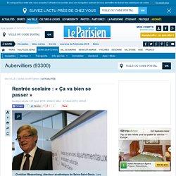 Le Parisien : Rentrée scolaire : « Ça va bien se passer