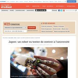 Japon: un robot va tenter de rentrer à l'université