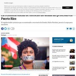 La renuncia oficial de Rosselló no acalla las protestas en Puerto Rico