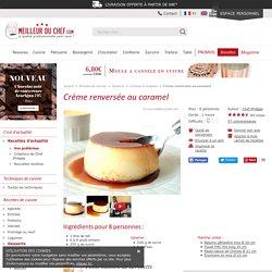 Crème renversée au caramel - Recette de cuisine illustrée