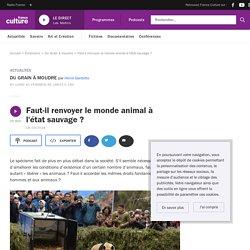 FRANCE CULTURE 18/10/18 DU GRAIN A MOUDRE - Faut-il renvoyer le monde animal à l'état sauvage ?