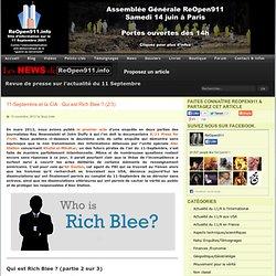 11/09/2001 Qui est Rich Blee ? 2/3