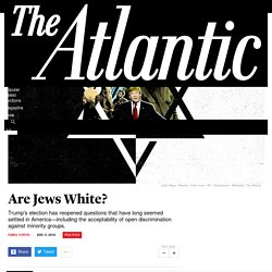 The Alt-Right Reopens Questions of Jewish Whiteness