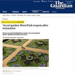 'Secret garden' Wrest Park reopens after restoration | Culture