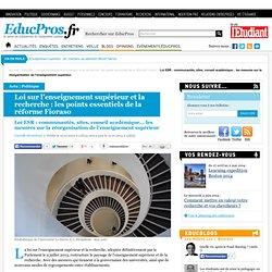 Loi ESR : communautés, sites, conseil académique... les mesures sur la réorganisation de l'enseignement supérieur - Actu sur Educpros