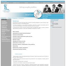 Droit social : réorganisation et réduction d'effectifs, plan social, Plan de Sauvegarde de l'Emploi. Lamy Lexel