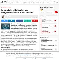 La smart city aide les villes à se réorganiser pendant le confinement