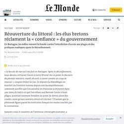 Réouverture du littoral: les élus bretons réclament la «confiance» du gouvernement