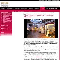 """Musée de l'histoire de l'immigration - Réouverture de l'exposition permanente """"Repères"""""""