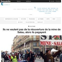Ils ne veulent pas de la réouverture de la mine de Salau, alors ils pagayent - France 3 Occitanie