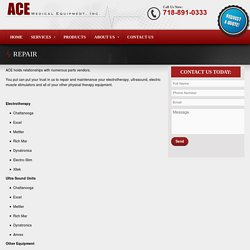Ace Medical Equipment