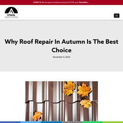 Why Roof Repair In Autumn Is The Best Choice
