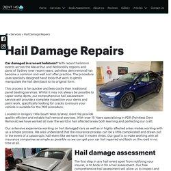 Car Hail Repair Southern Highlands