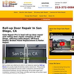 Roll-up Door Repair San Diego, CA