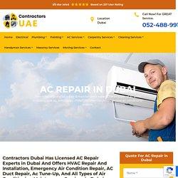AC Repair Dubai - Air Conditioning Repair Dubai