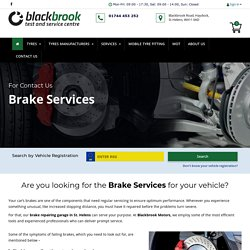 Brake Pad Replacement St Helens