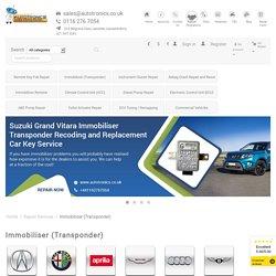 Repair your Car Immobiliser - Autotronics