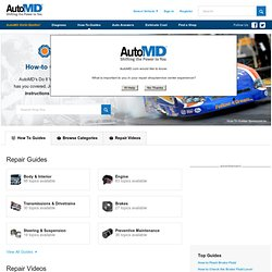 Auto Repair Manuals and Videos - Find DIY Car Repair Guides | AutoMD