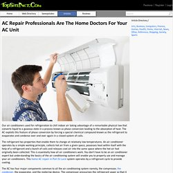 AC Repair Professionals Are The Home Doctors For Your AC Unit