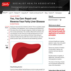 Yes, You Can: Repair and Reverse Your Fatty Liver Disease