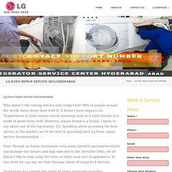 Lg Oven repair service Secunderabad - LG Service