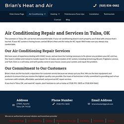 AC Repair in Tulsa, OK