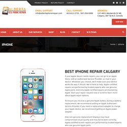 Best iPhone Repairs Calgary