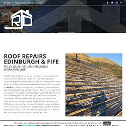 Roof Repairs Edinburgh