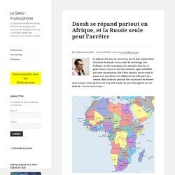 Daesh se répand partout en Afrique, et la Russie seule peut l'arrêter