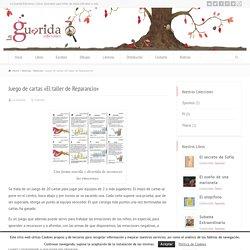 Juego de cartas «El taller de Reparancio» - La Guarida Ediciones