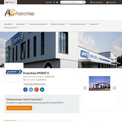 Franchise Point S : Pneu et réparation automobile