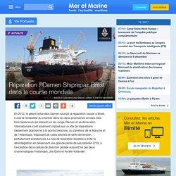 Réparation : Damen Shiprepair Brest dans la course mondiale