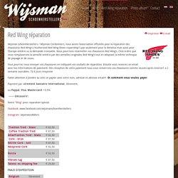 Red Wing réparation - Wijsman Cordonnerie