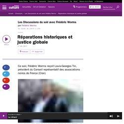 Réparations historiques et justice globale