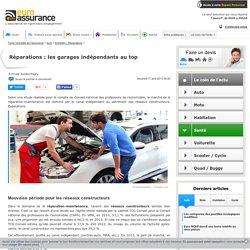 Réparations : les garages indépendants au top