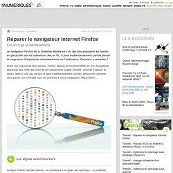Réparer le navigateur Internet Firefox