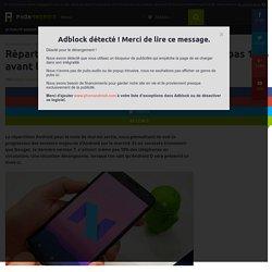 Répartition Android : Nougat n'atteint même pas 10% avant la Google I/O