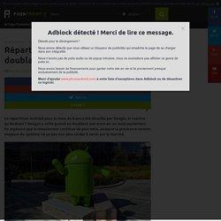 Répartition Android : Nougat grandit enfin en doublant son score