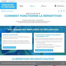 Répartition des droits d'auteur - La Sacem