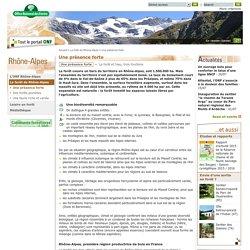 La forêt en Rhone-Alpes : Une présence forte, une répartition hétérogène
