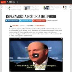 Repasamos la historia del iPhone